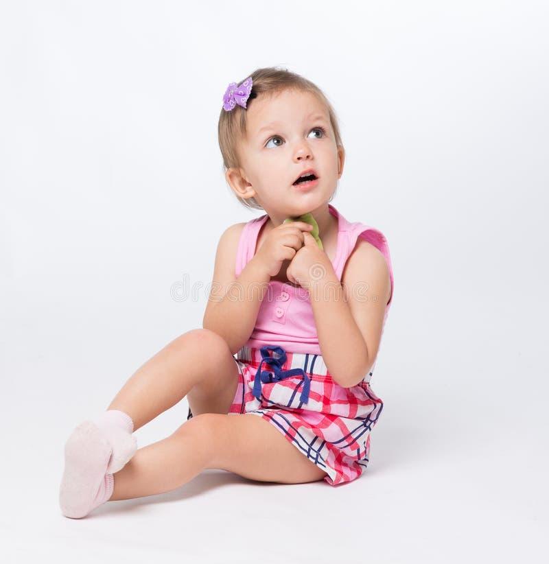 Baby zwei Lebensjahre lizenzfreies stockfoto
