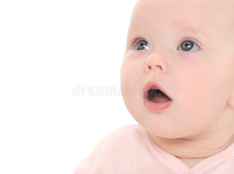 babyansikte arkivbilder