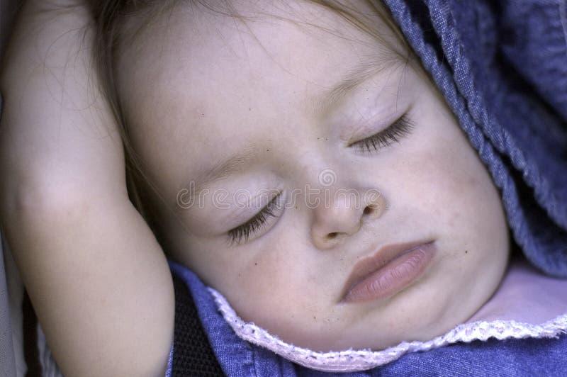 Babyansikte royaltyfria foton