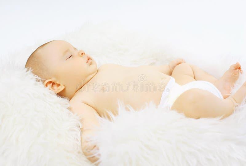Babybonbonschlafen stockbild
