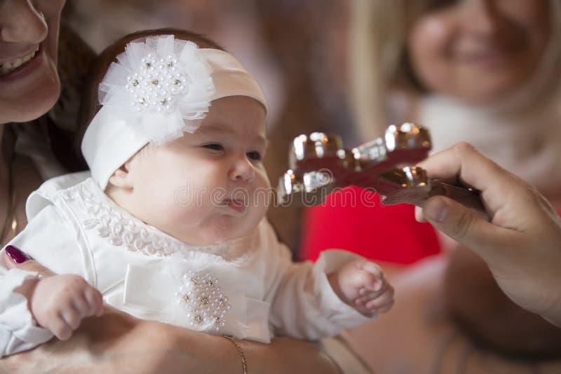 Babydoopsel royalty-vrije stock foto