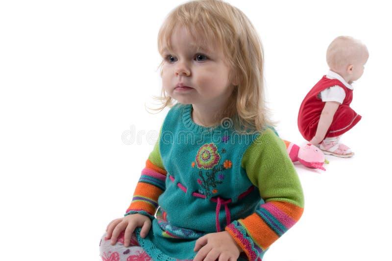 babyes floor target1302_1_ dwa zdjęcia stock