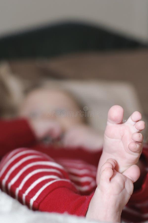 babyfeet obrazy stock