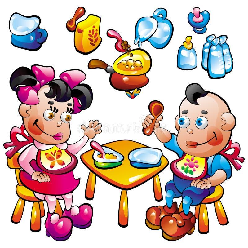 babyfood ilustracja wektor