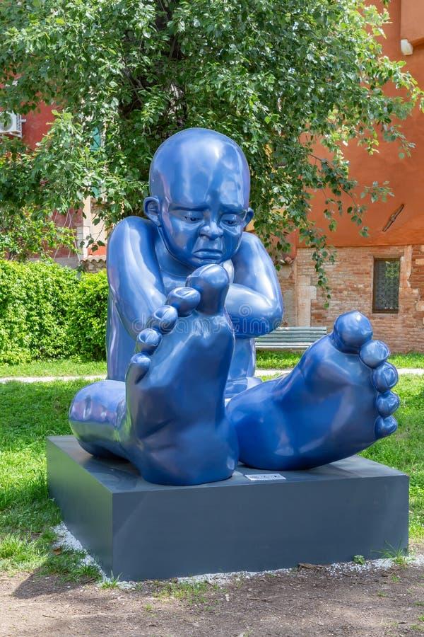 Babyfoot Biennale Venise 2019 image stock
