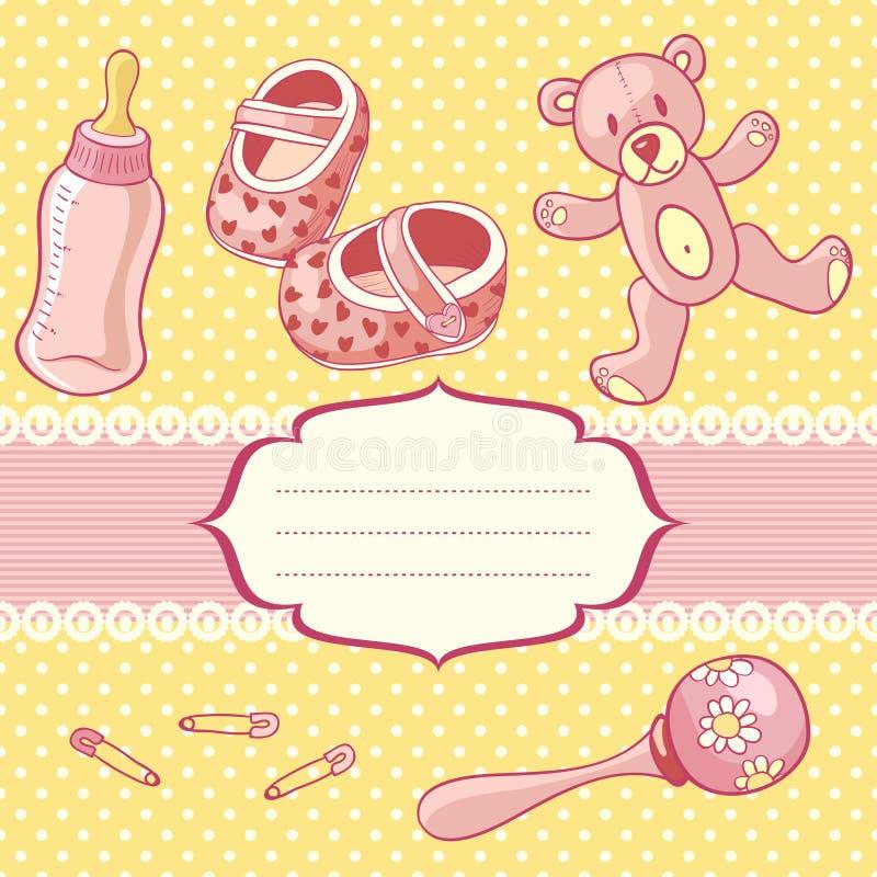 Download Babygirl vector illustratie. Illustratie bestaande uit familie - 29506149