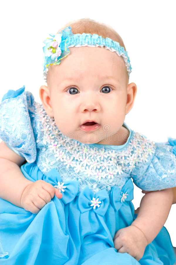 Babygirl bonito fotografia de stock royalty free