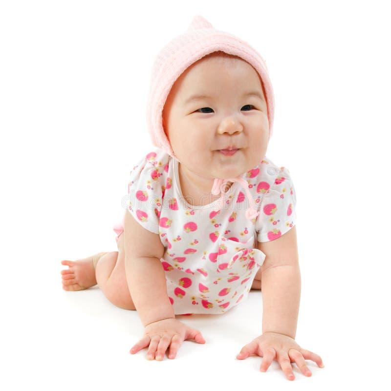Babykriechen lizenzfreie stockfotografie