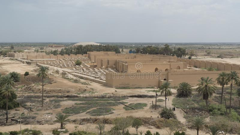 Babylon stad, Irak fotografering för bildbyråer