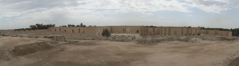 Babylon stad, Irak arkivfoto