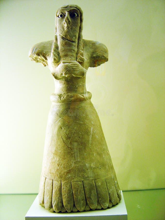 Babylon staty royaltyfri bild
