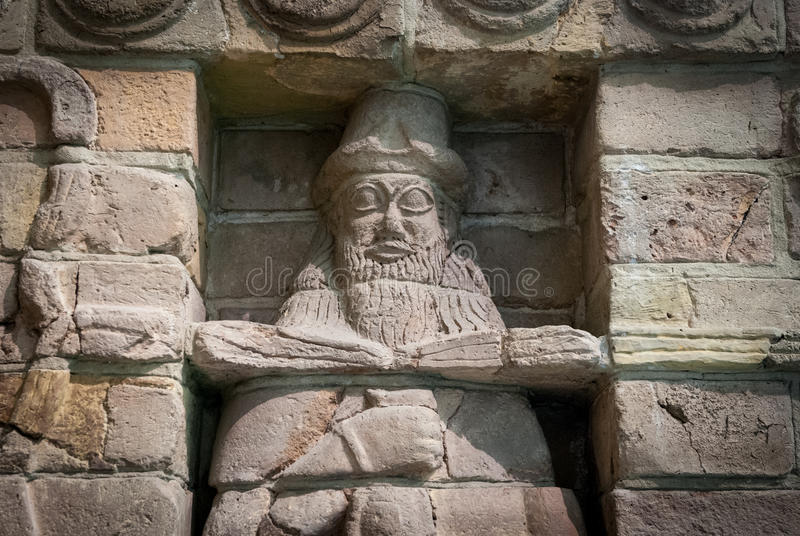Babylonian Skulptur, Pergamon-Museum, Berlin lizenzfreie stockfotografie