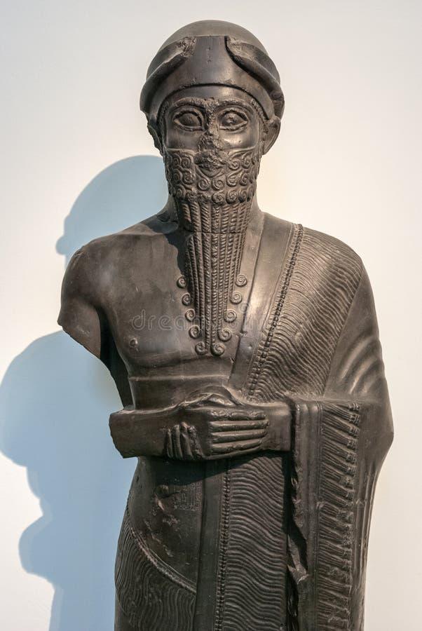 Babylonian Skulptur, Pergamon-Museum, Berlin stockfotografie