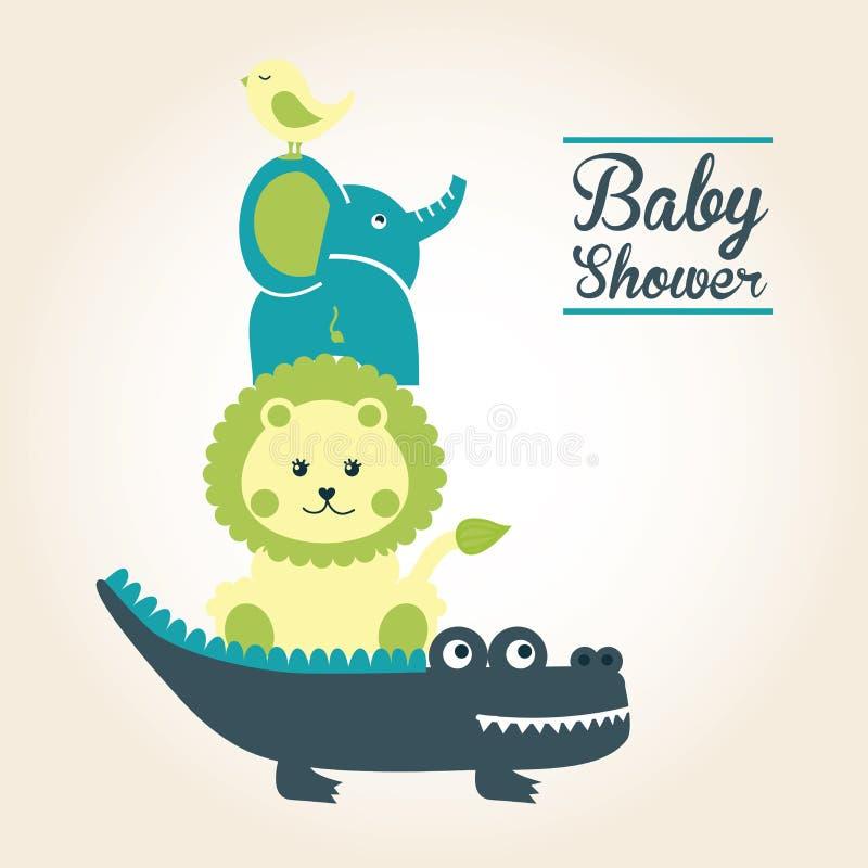Babyontwerp stock illustratie