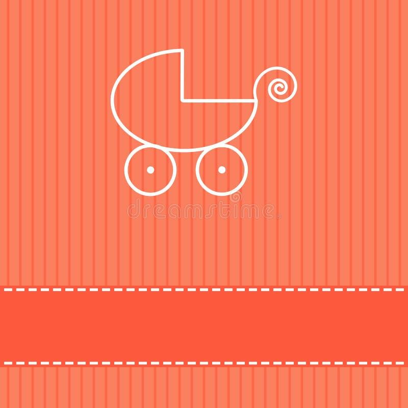 Download Babyparty Einladung Sie Können Ihren Text Addieren Stock Abbildung    Bild: 41926303