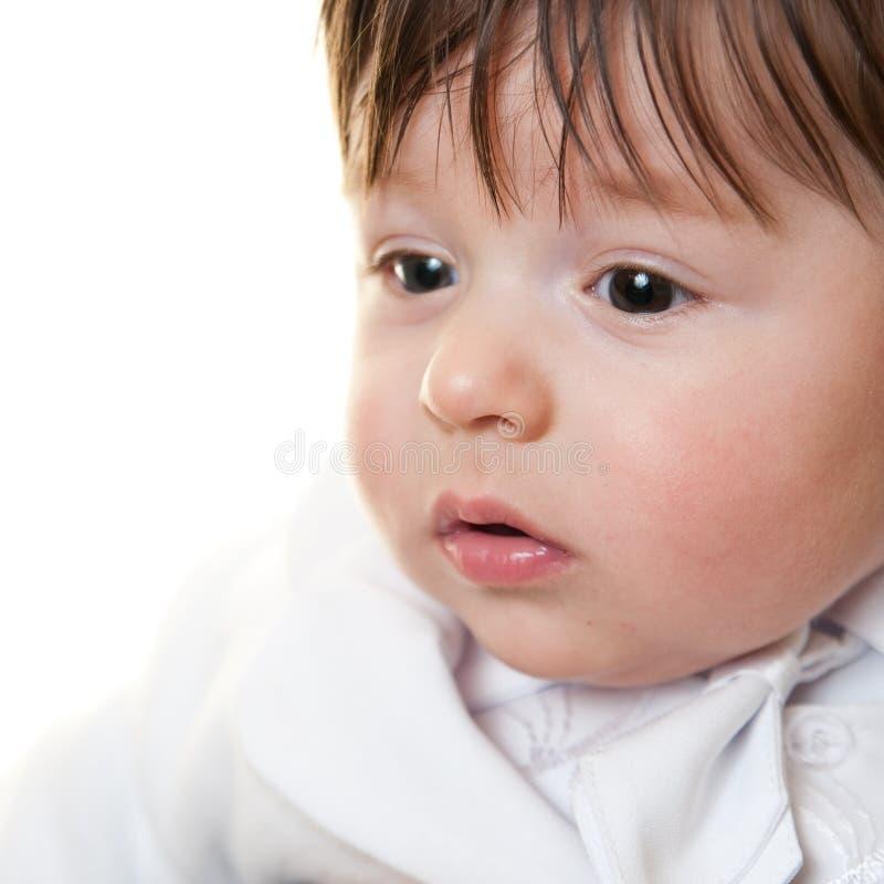 Babyportrait stockbilder
