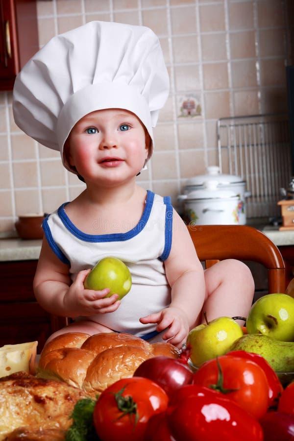 babys营养 免版税库存图片