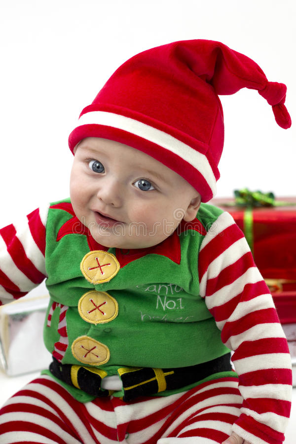 Download Babys First Christmas Stock Image - Image: 16752651