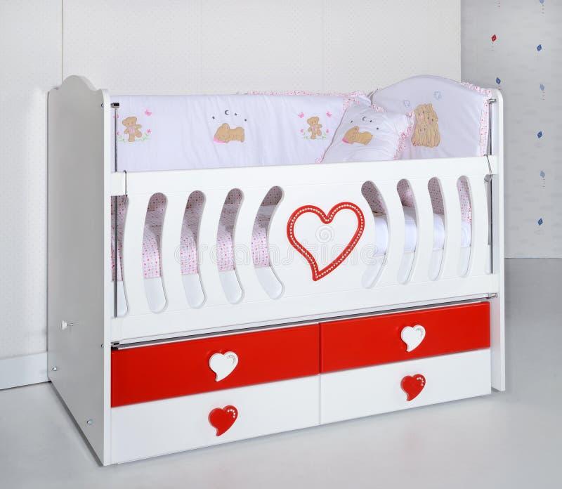 Babys Krippe stockbilder