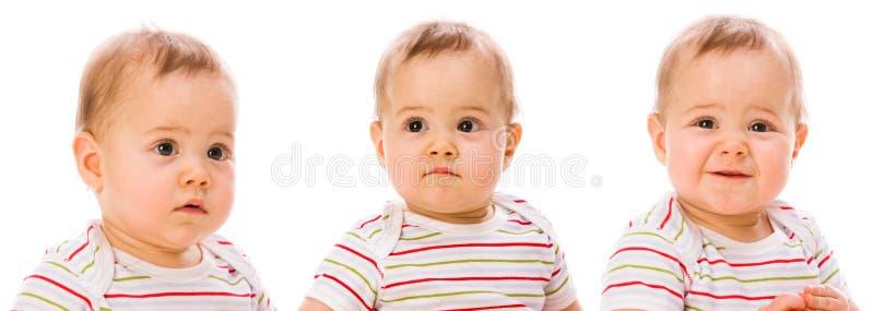 babys portrety zdjęcia royalty free
