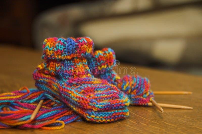 Babyshoes immagini stock