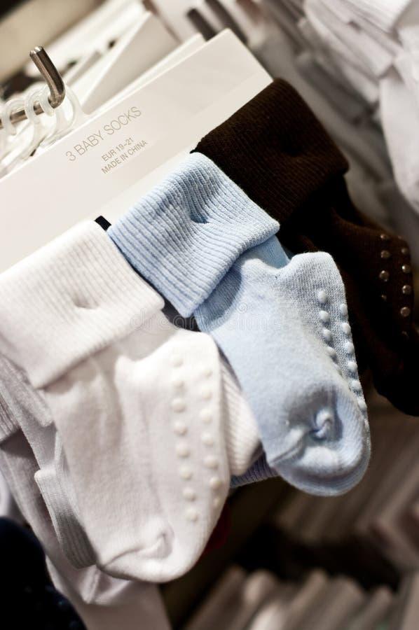Babysokken royalty-vrije stock fotografie