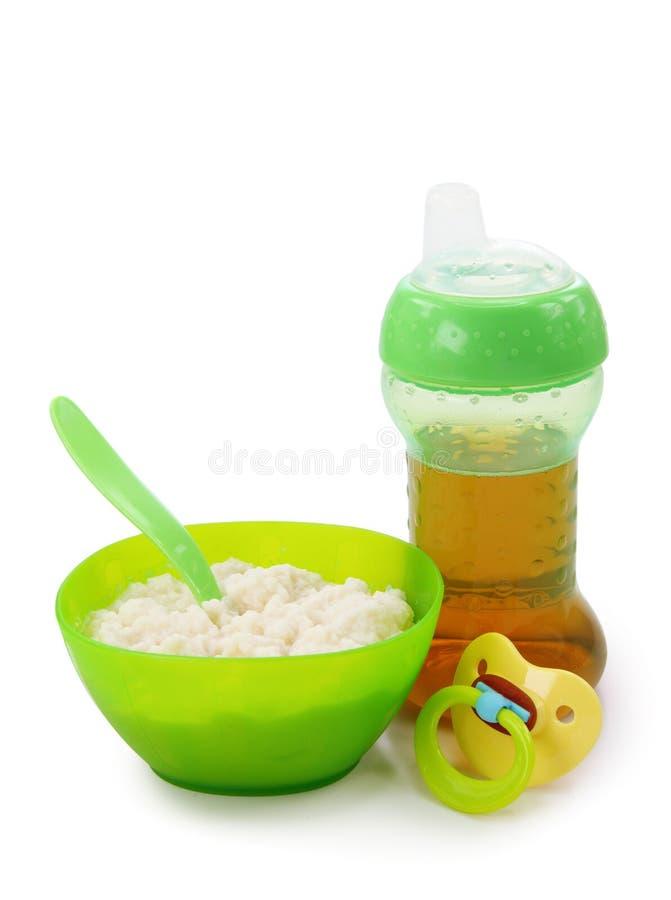 Babyvoeding royalty-vrije stock foto