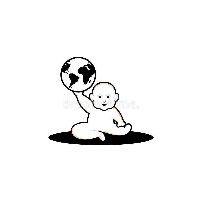 Babyworld royalty-vrije stock fotografie