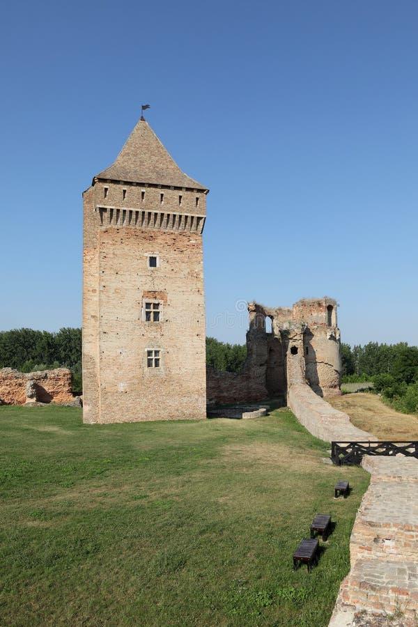 Bac堡垒,塞尔维亚,欧洲 免版税库存图片