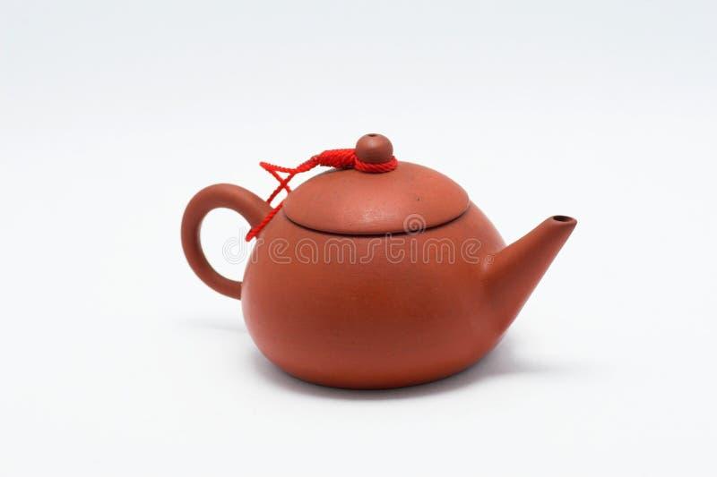 Bac chinois de thé photo stock