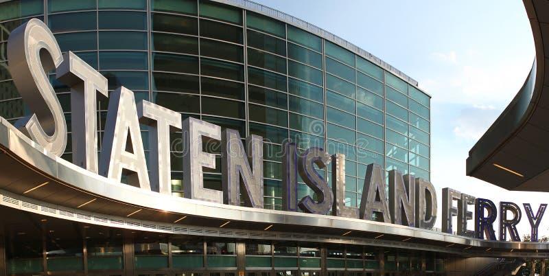 Bac d'île de Staten image stock
