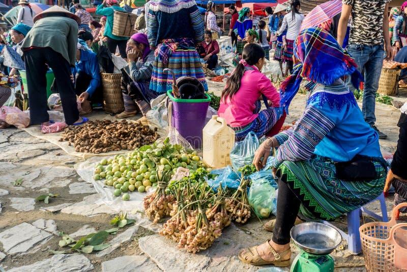 Bac Ha, Vietnam royalty-vrije stock afbeeldingen