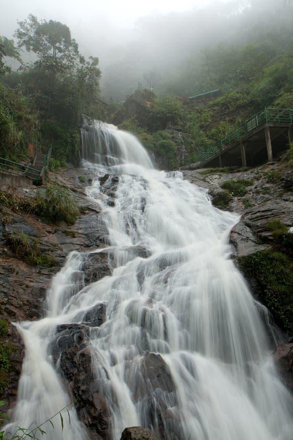 Bac van Thac waterval in Sapa, Vietnam stock afbeelding