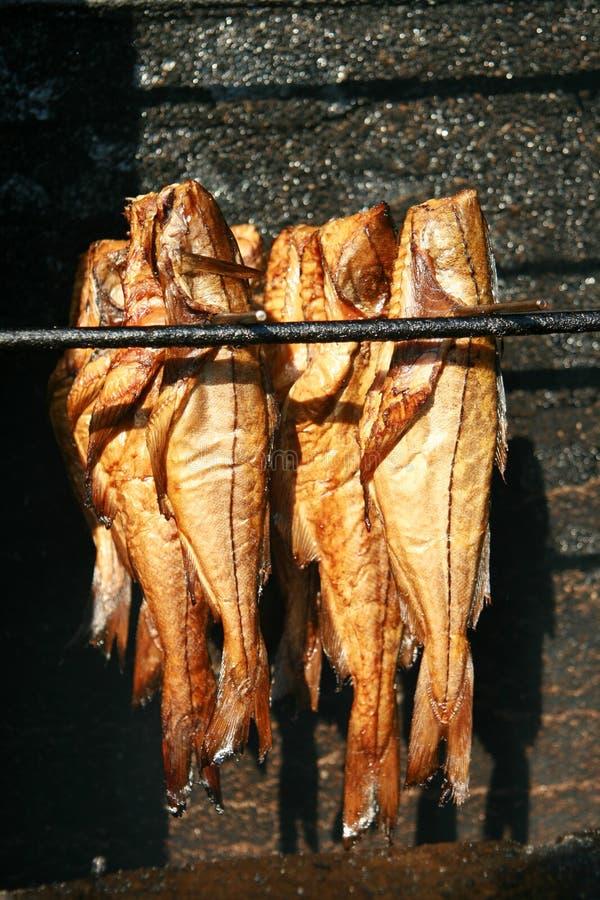 Bacalao fumado fotografía de archivo libre de regalías