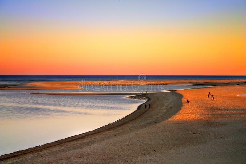 Bacalhau de cabo, Massachusetts, EUA imagem de stock