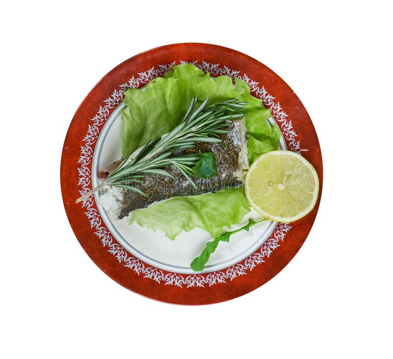 Bacalhau francês em Provencal fotografia de stock