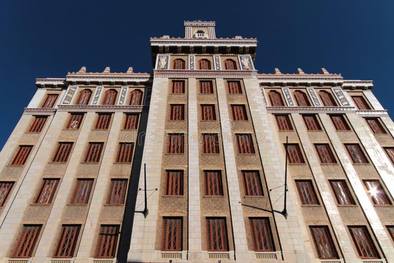 Bacardi byggnad i havannacigarr arkivfoton