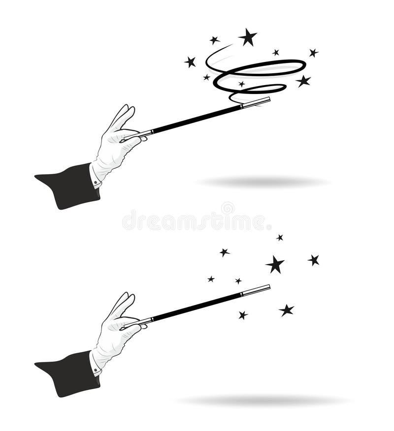 Bacchetta magica royalty illustrazione gratis
