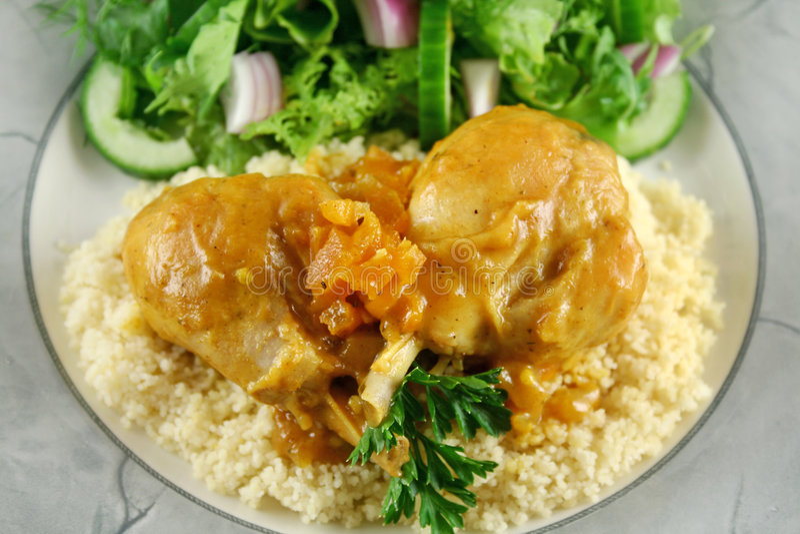 Bacchette di pollo dell'albicocca 1 fotografie stock libere da diritti