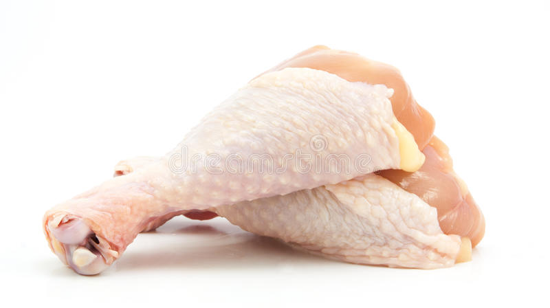 Bacchette di pollo fresche immagine stock libera da diritti