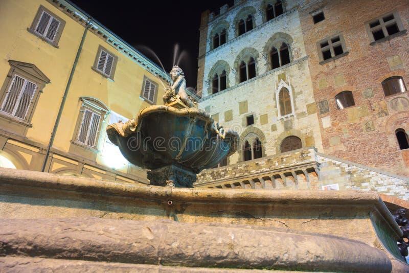 Bacchino Fountain, Prato royalty free stock photo