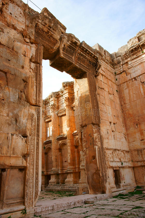 Free Bacchus Temple Stock Photography - 20033092