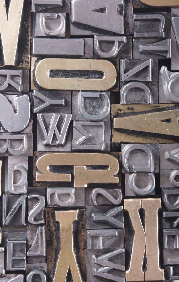 bacground字体 免版税图库摄影