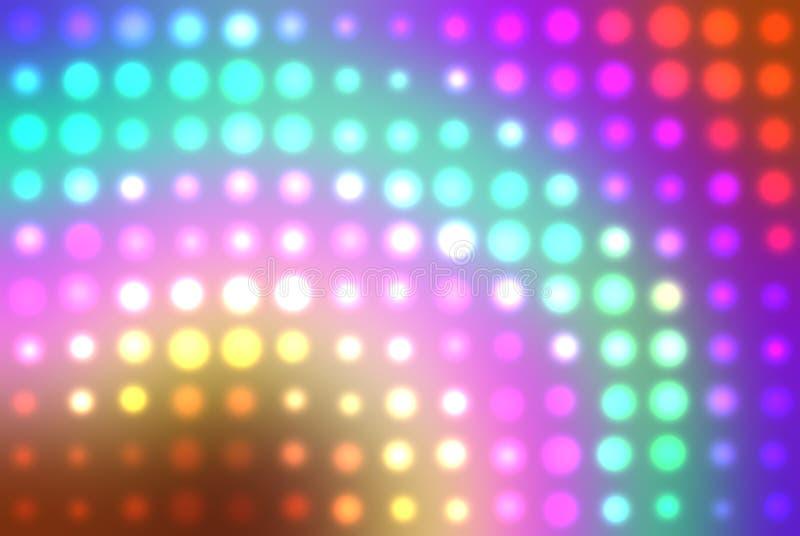 Bacground abstracto multicolor ilustración del vector
