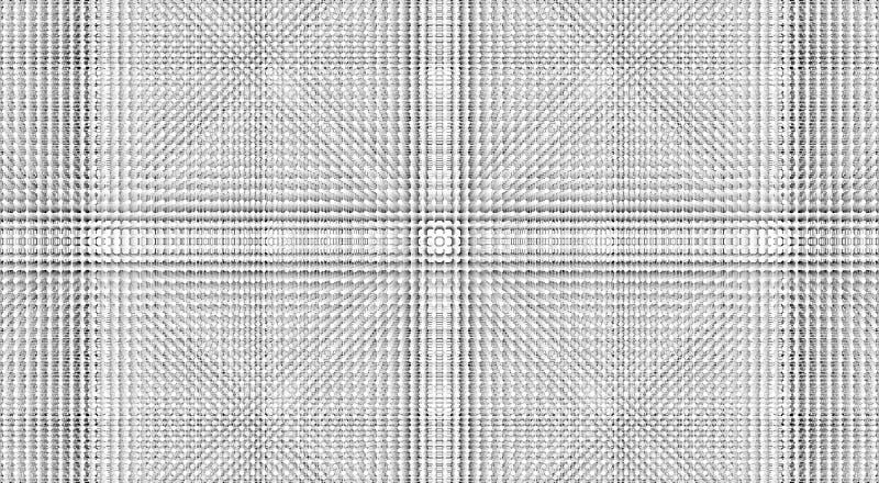 Bacground blanco, enrejado cristalino Dise?o gris libre illustration