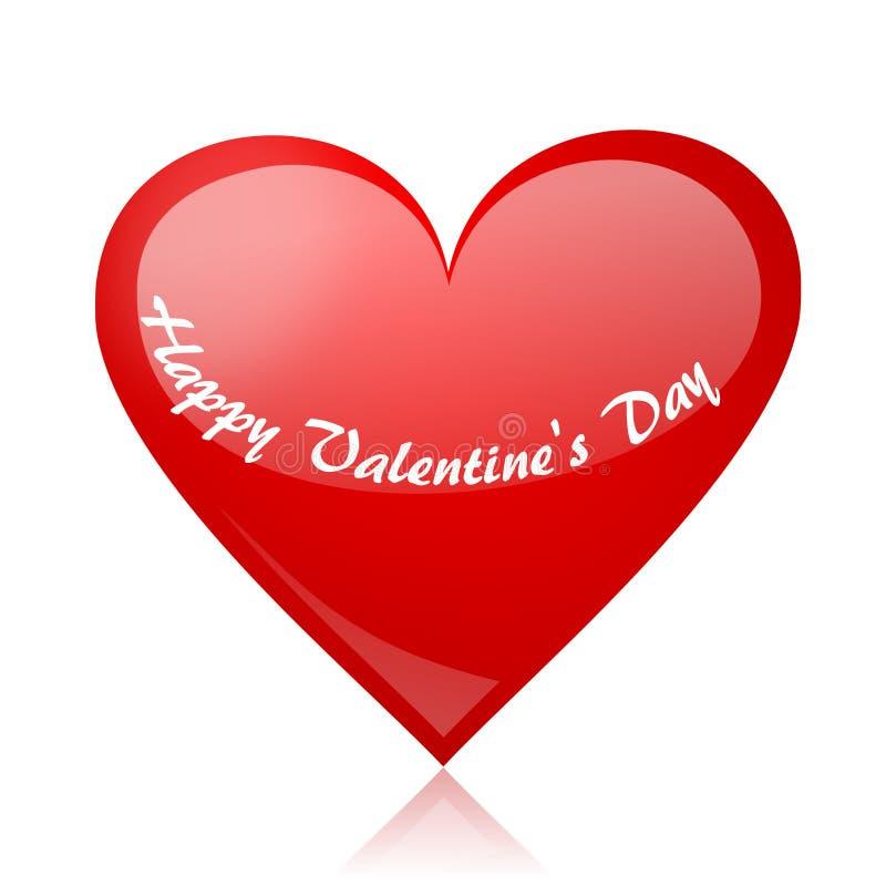 Bacground de las tarjetas del día de San Valentín stock de ilustración