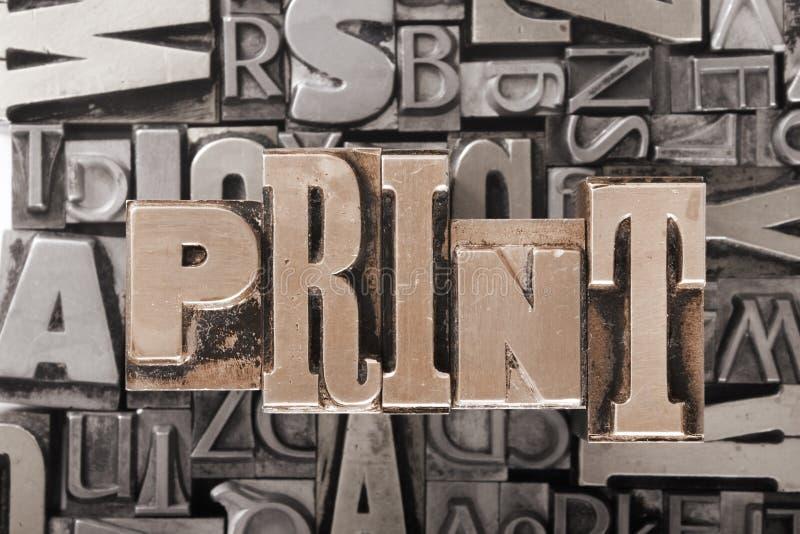 Bacground delle fonti tipografiche fotografia stock