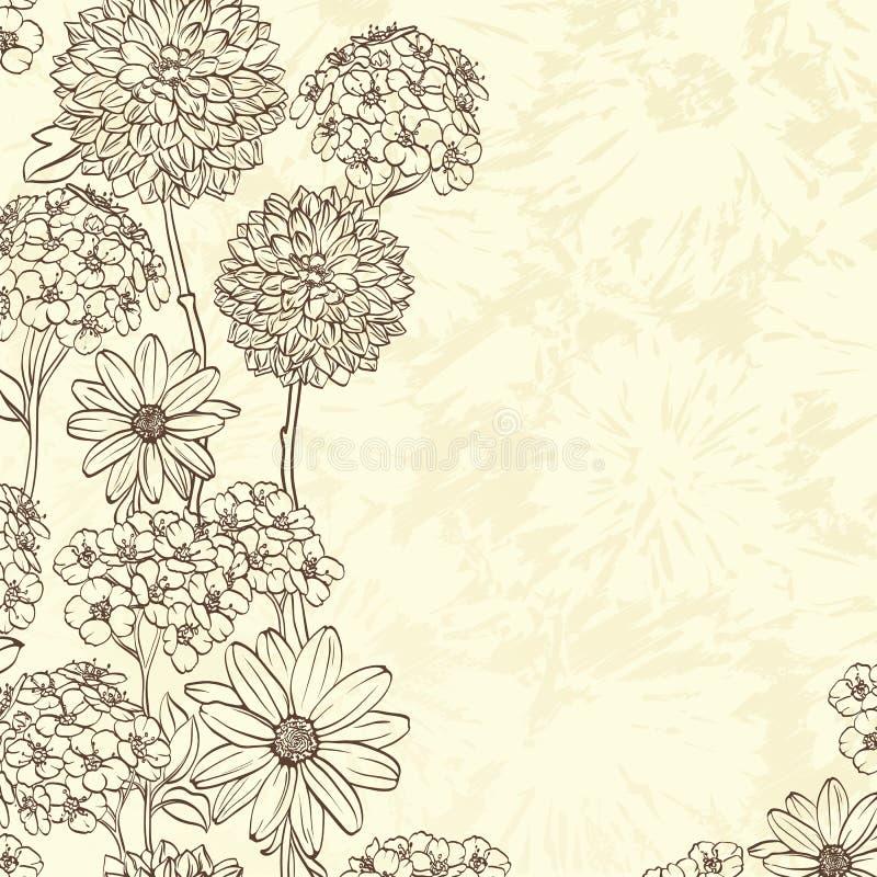 Bacground floreale illustrazione vettoriale