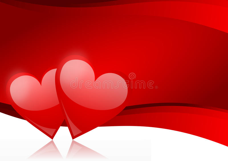 bacground valentines ilustracja wektor