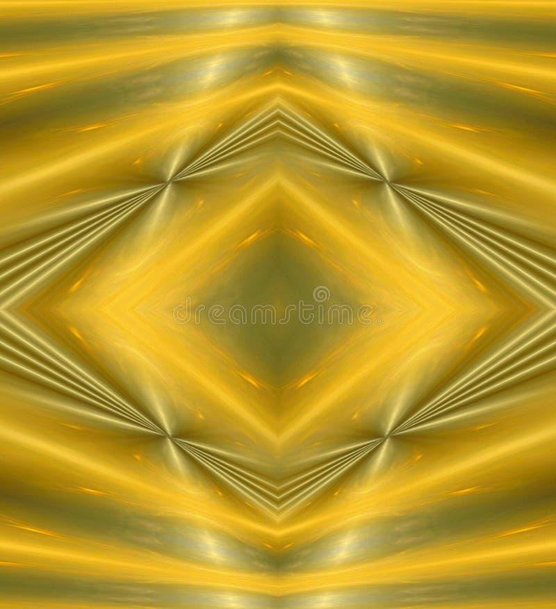 Bacgrounds del amarillo del arte abstracto ilustración del vector